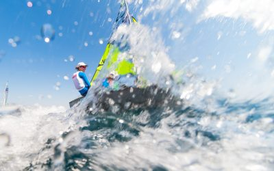 Felpham SC Open champagne sailing conditions Sunday 15th May