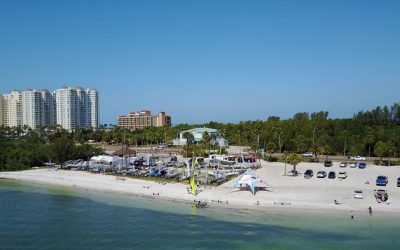 All set in Clearwater, Florida ahead of the 2018 PA Consulting RS Feva Worlds
