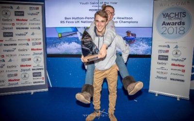 2018 Yachts and Yachting Youth Sailor of the year Award Winners Congratulations Ben and Lucy!