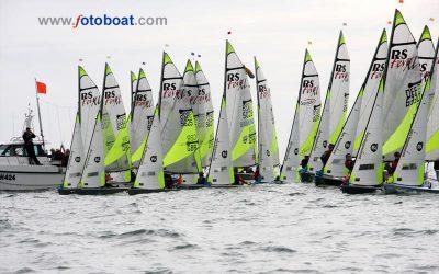 RS Feva VOLVO Grand Prix Exe Sailing Club
