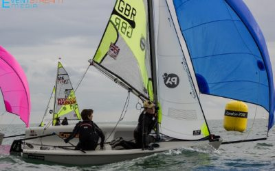 Volvo RS Feva Grand Prix at Hayling Island Sailing Club
