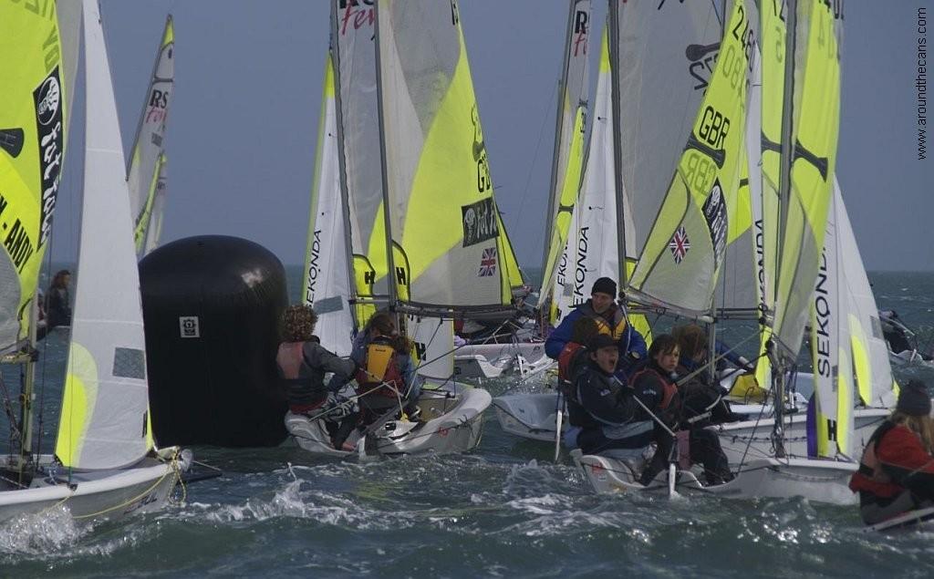 2008 RS Feva Nationals- Hayling Island Sailing Club