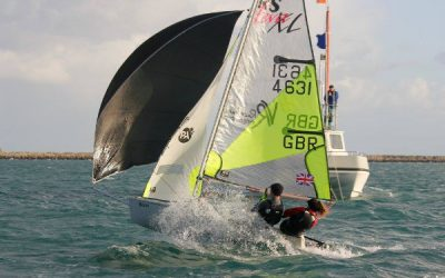 RS Feva Winter Championship at the WPNSA