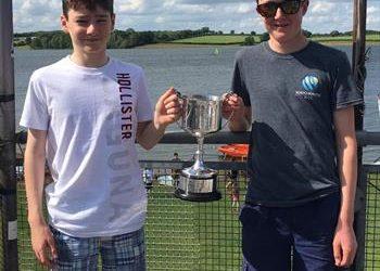 Tom Ahlheid & Tom Stratton-Brown win the RS Feva Inlands at Rutland
