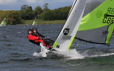 Day 1 at the 2015 PA Consulting UK RS Feva National Championships