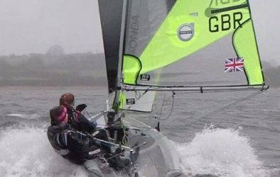Wild Weekend for the RS Feva South West Open Training