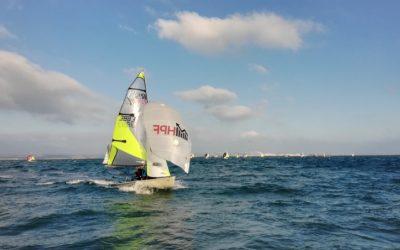 RS Feva Winter Championship at Weymouth & Portland Sailing Academy