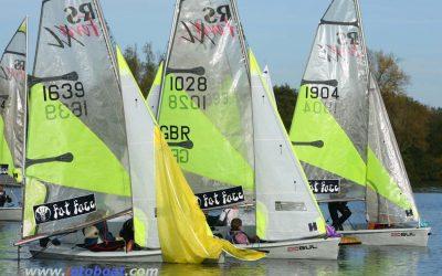 RS Feva Inland Championship at Burghfield Sailing Club