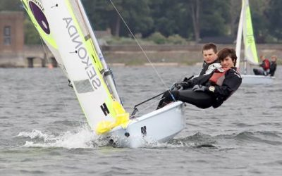RS Feva Inland Championships at Northampton Sailing Club