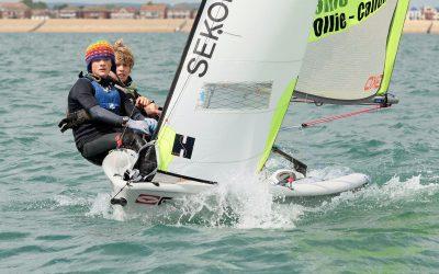 GKO RS Feva Grand Prix at Hayling Island Sailing Club