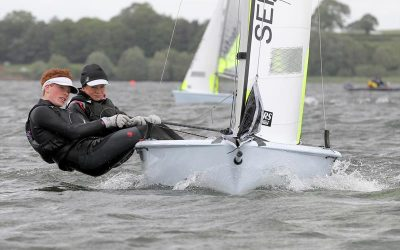 Insurance4dinghies.com RS Feva Inlands at Chew Valley Lake Sailing Club