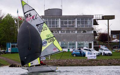 3rd Volvo Grand Prix for RS Fevas at Grafham Water Sailing Club