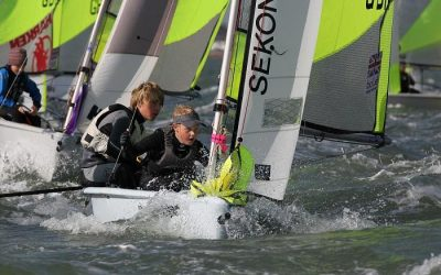Bolle RS Feva Grand Prix at Lee-on-the-Solent Sailing Club