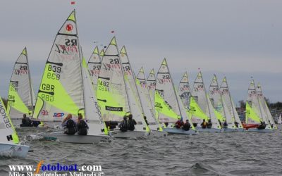 RS Feva Inland Championship at Draycote Water Sailing Club
