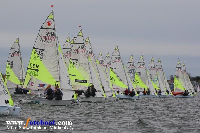 RS Feva Inland Championship at Draycote Water Sailing Club