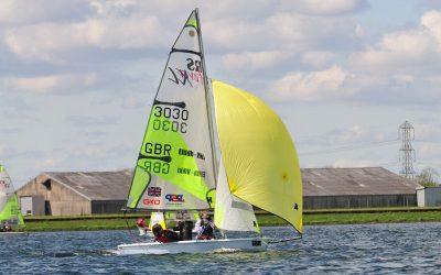 GKO RS Feva Grand Prix at Queen Mary Sailing Club