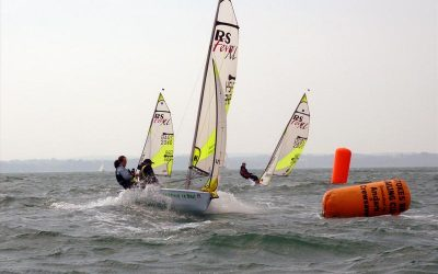 RS Feva Grand Prix & Indicator at Stokes Bay Sailing Club